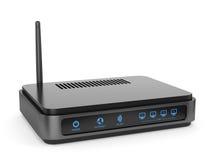 Router del Wi-Fi Imágenes de archivo libres de regalías
