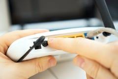 Router di Wifi fotografia stock libera da diritti