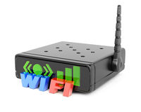 Router di Wifi Immagine Stock Libera da Diritti
