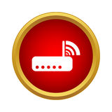 Router icon in simple style Royalty Free Stock Images