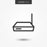 Router icon vector illustration Royalty Free Stock Photo