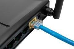 Router met draad Stock Fotografie