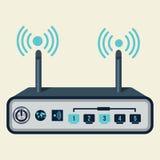 Router sem fio Imagem de Stock Royalty Free