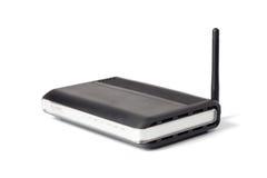 Router sem fio preto Fotos de Stock
