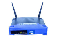 Router senza fili Immagine Stock