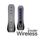 Router senza fili Immagini Stock