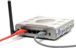 Router senza fili Fotografia Stock