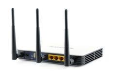 Router senza fili della banda larga di gigabit Fotografia Stock Libera da Diritti