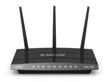 Router senza fili di Internet Fotografia Stock Libera da Diritti