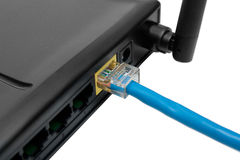 Router with wire Stock Photography