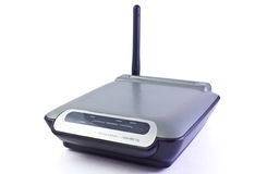 Router wireless. G blue and gray Stock Photos