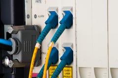 Routeres de GPON Foto de Stock
