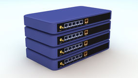 Routers Royalty Free Stock Photography