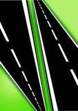 Routes illustration stock