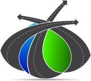 Routes Image libre de droits