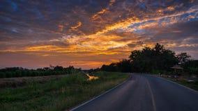 routes Photo stock