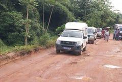 Routes africaines photos libres de droits