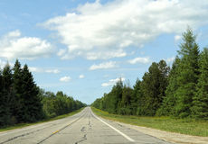 Routes américaines Photographie stock libre de droits