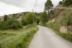 Routes Beceite Photo libre de droits