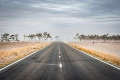 Routes d'intérieur en Nouvelle-Galles du Sud, Australie images libres de droits