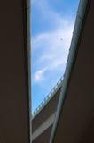 Routes dans le ciel bleu Image libre de droits