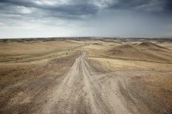 Routes de campagne Photographie stock