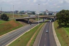 Routes de Johannesburg photographie stock libre de droits