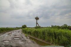 Routes de l'Ukraine Photo stock