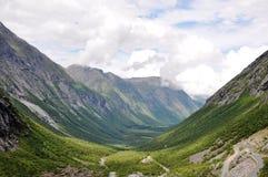 Routes de la Norvège Photos stock