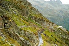 Routes de montagne Images libres de droits