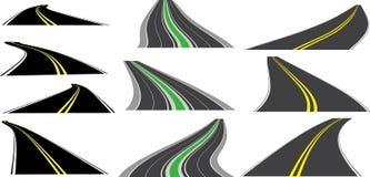 Routes de point de vue Image libre de droits