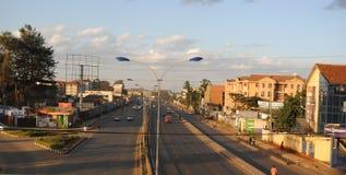 Routes et rues de Nairobi Photographie stock libre de droits