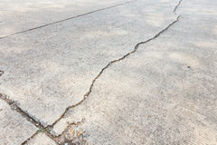 Routes fendues Image libre de droits
