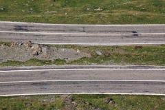 Routes parallèles Photographie stock libre de droits