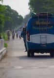 Routes publiques népalaises Images libres de droits