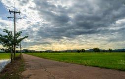 Routes rurales photographie stock libre de droits