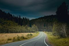 Routes russes Photos stock