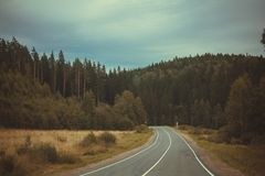 Routes russes Photographie stock libre de droits