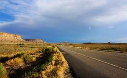 Routes sans fin Photos libres de droits