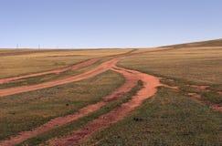 Routes sans fin Image libre de droits