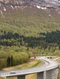 Routes sinueuses Photo libre de droits