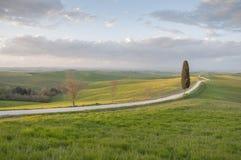 Routes toscanes photo stock