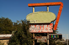 routetecken för 66 motell Arkivfoton