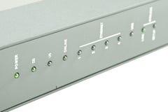 Routeur de modem câblé off-line photographie stock