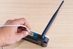Routeur de Wi-Fi images libres de droits