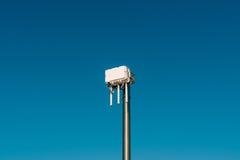 Routeur de wifi de ville L'émetteur de rue du signal d'Internet Photos stock