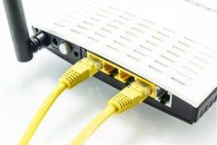 Routeur de Wiress Images stock