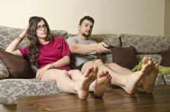 Routine couple. stock photo