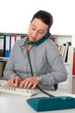 Daily routine in the office Stock Photos