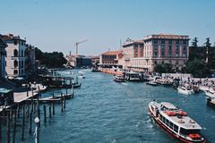Routine of venice stock images